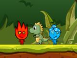 FireBoy & WaterGirl In Jurassic World