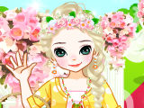 Frozen Wedding Flower Girl