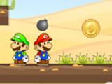 Mario Brothers Desert Gold Rush