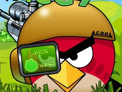 Angry Birds:Shoot The Green Piggy