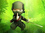 Ninja Cartoon Forest Fight